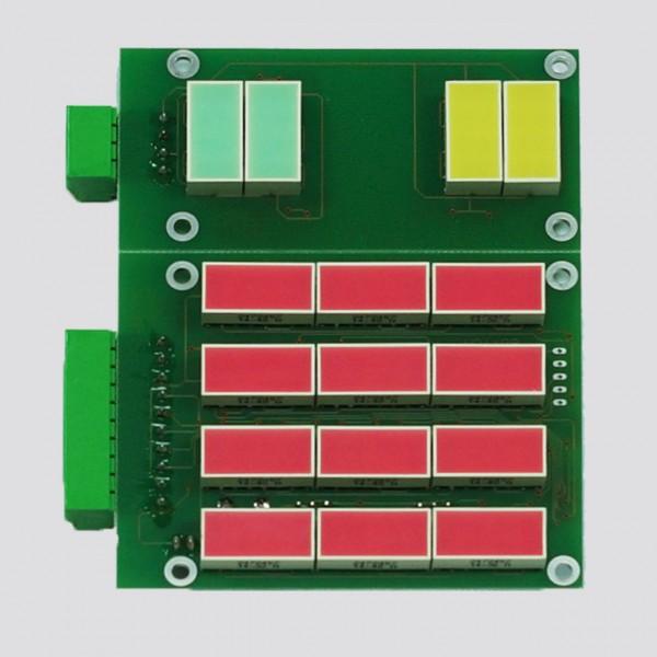 LED-Anzeigenfeld Piktogramme, Sonderfahrten